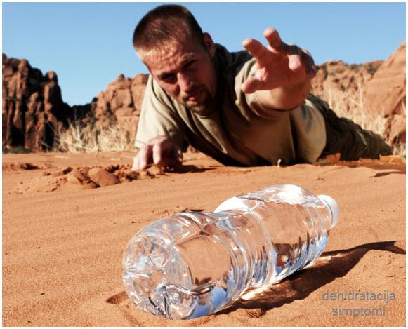 šta je dehidratacija organizma | simptomi