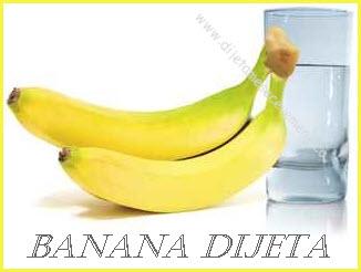 jutarnja banana dijeta jelovnik