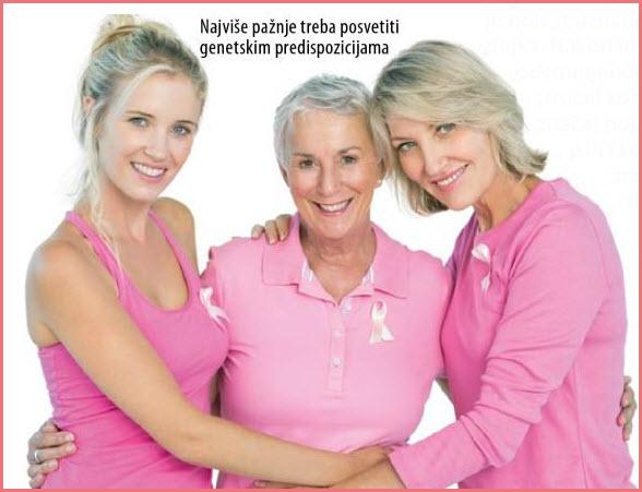 karcinom dojke simptomi raka dojke