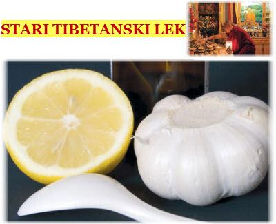 Tibetanski recept sa belim lukom i limunom