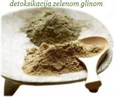 detoksikacija zelenom glinom
