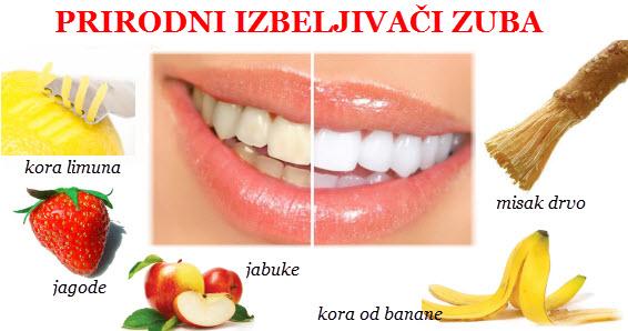Izbeljivanje zuba kod kuce prirodnim putem