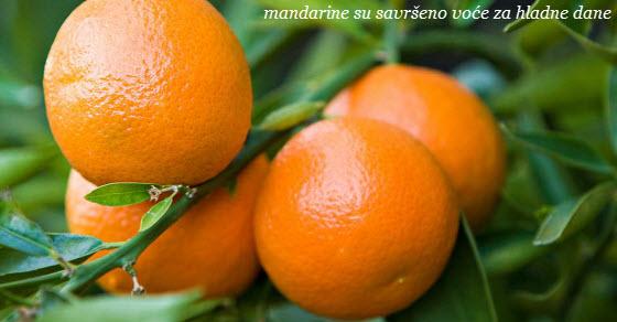 Mandarine kalorije, vitamini i zdravlje