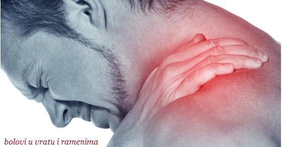 bolovi u vratu i ramenima lecenje
