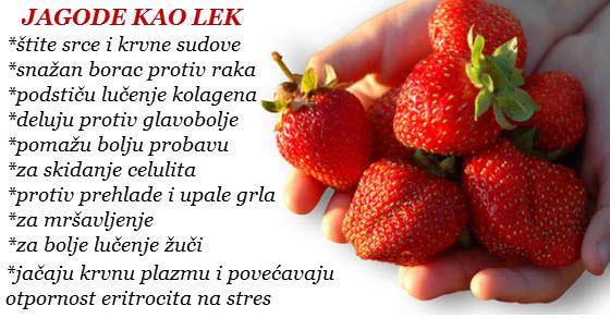 jagode zdravlje kalorije