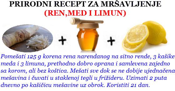 recepti za mršavljenje prirodnim putem iskustva