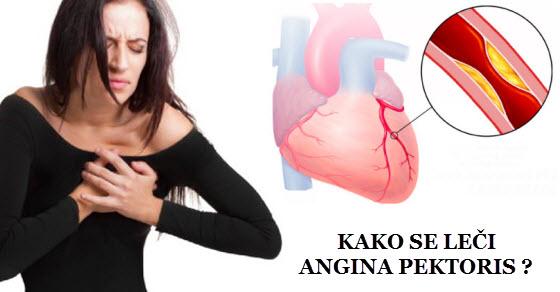 angina pektoris simptomi | ishrana | lečenje