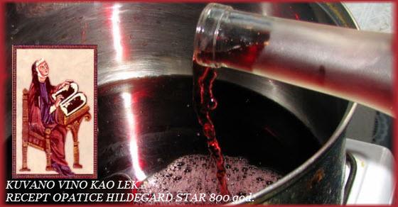 Vino za srce recept star 800 godina