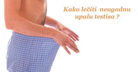 upala testisa simptomi