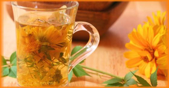 čaj od nevena dejstvo