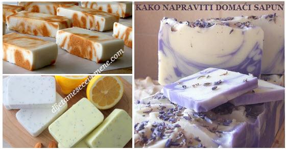 kako napraviti domaći sapun