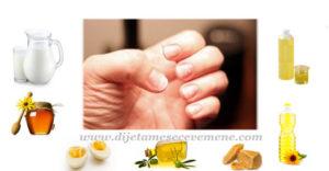 listanje noktiju na rukama