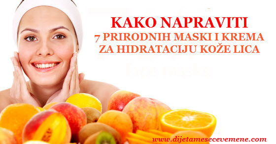 najbolja hidratantna krema za lice i kožu