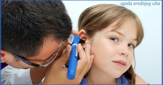 upala srednjeg uha kod dece