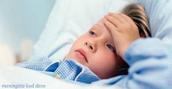 meningitis simptomi kod dece