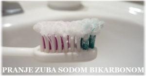 pranje zuba sodom bikarbonom