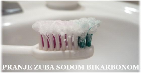 Soda bikarbona za zube recepti