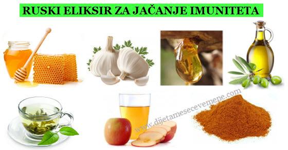 prirodni lek za imunitet sa medom