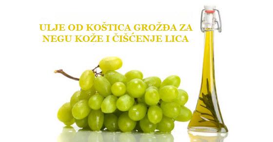 ulje od koštica grožđa lekovita svojstva