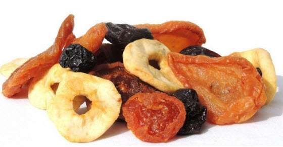 Sušenje voća i povrća postupak