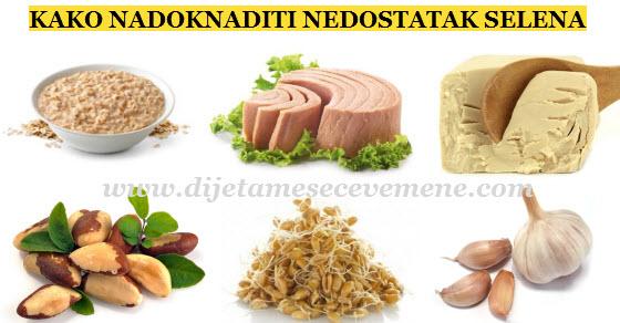 Selen u hrani za zdravlje organizma