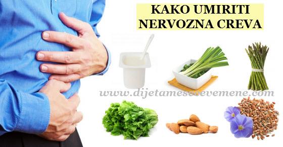 sindrom nervoznog creva simptomi