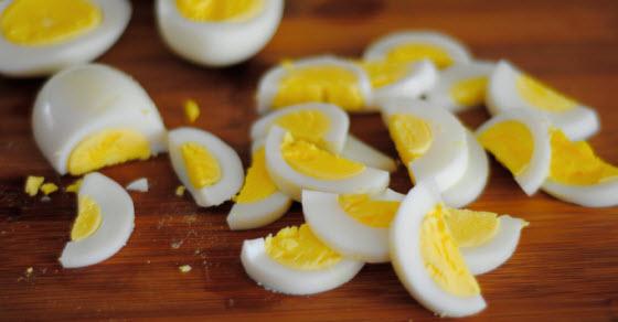 Kuvana jaja kalorije