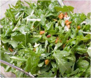 rukola salata recept