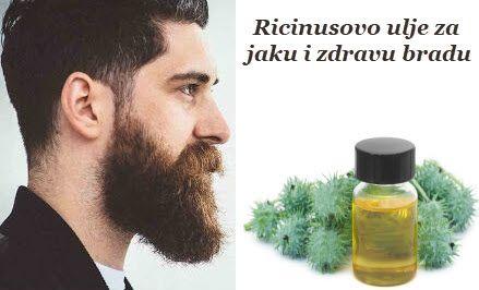 ulje ricinusa za rast brade