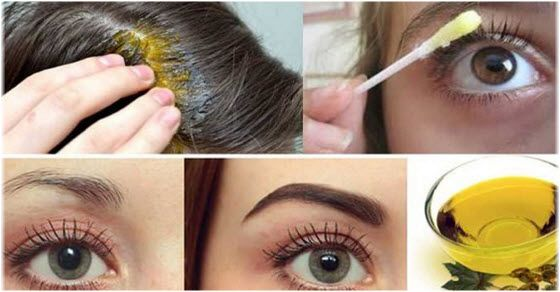 Kako koristiti ricinusovo ulje za kosu, lice, bradu