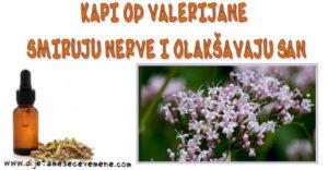 kapi valerijane protiv stresa