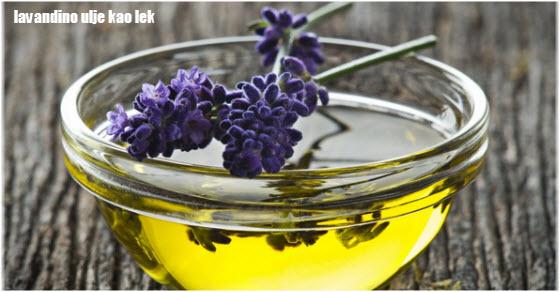 lavandino ulje upotreba