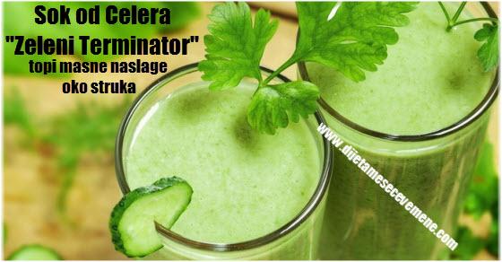 Kako napraviti sok od celera i limuna