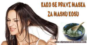 masna kosa prirodni lek