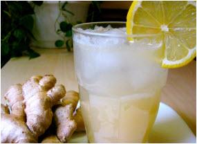 napravite sok od đumbira i limuna koji osvežava