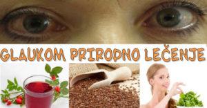 glaukom oka lečenje prirodno