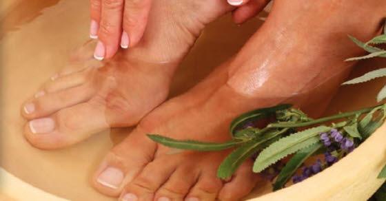 Kupka za stopala protiv gljivica i umornih nogu