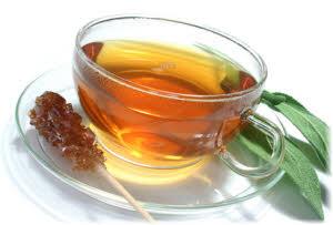 čaj od žalfije priprema za grlo