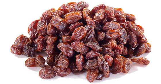 čišćenje jetre suvim grožem