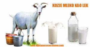 izuzetna lekovitost kozjeg mleka