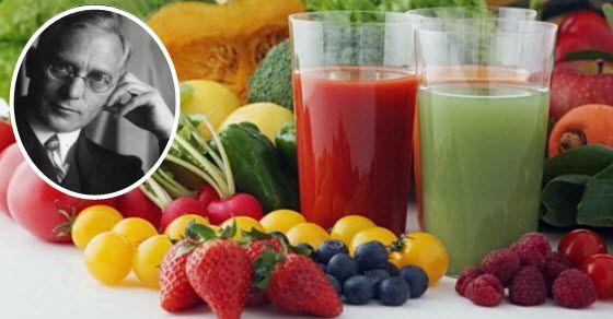 Gersonova terapija hranom i metoda protiv raka