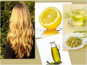 kako posvetliti kosu kod kuće