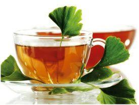 ginko čaj recept