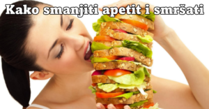 kako obuzdati apetit