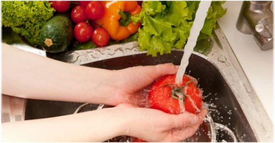 pranje povrća i voća