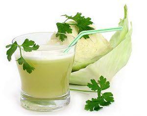 prirodni sok od kupusa