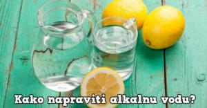 alkalizacija vodom
