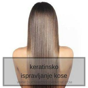kako se koristi keratin za kosu