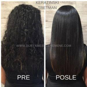 Kako se koristi keratin za kosu kod kuće