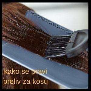 domaći preliv za kosu